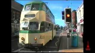 preview picture of video 'Vintage Trams. Blackpool to Fleetwood  2001'