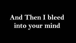 Bleed Into Your Mind - The All American Rejects LYRICS