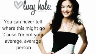 Lucy Hale - Extra Ordinary Lyrics