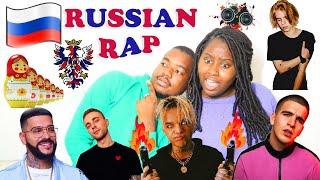 First Russian Rap Reaction | Timati, Egor Creed, Allj , PHARAOH & Feduk |