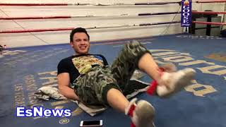 Julio Cesar Chavez Jr Why He Is Not Playing Himself On Show El Cesar About His Pops  EsNews Boxing