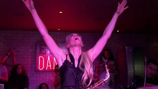 Lovely Laura - Klingande epic Sax music Changes Faul vs Wad live from the Social in Glasgow