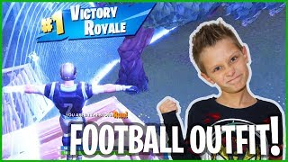 Footballer Takes 1st Place in Fortnite!
