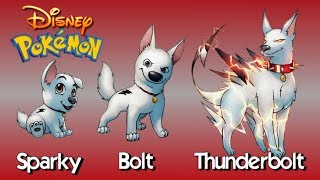 DISNEY Characters As Evolving POKEMON!!!