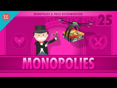 Monopolies and Anti-Competitive Markets: Crash Course Economics #25