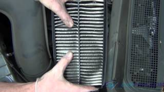 Honda Element air filter replacement