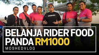 Saya Bagi Rider Food Panda RM1000 | Moshed Vlog