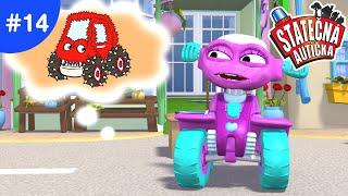 Statečná autíčka - Příšerný kamión