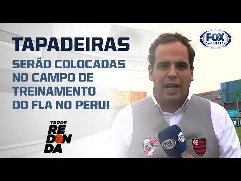 PEDIDO DO FLAMENGO: TAPADEIRAS SERÃO COLOCADAS NO CAMPO DE TREINAMENTO NO PERU!