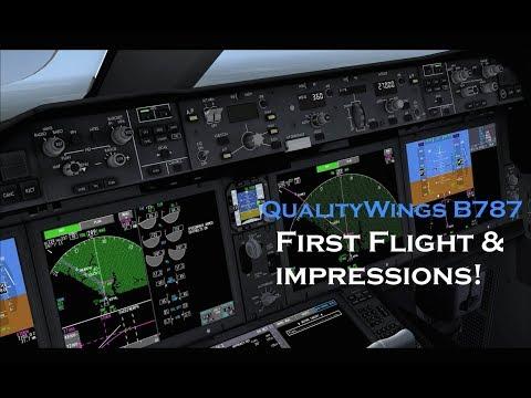 Prepar3D® / | KORD ✈ EGLL | QWings 787 -8 | FSCloud - Benzhangar