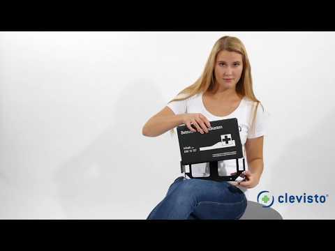 Erste-Hilfe Kasten DIN 13157 mit Wandhalterung (Betriebsverbandkasten)