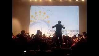 preview picture of video 'Orquesta Juvenil Argentina Juana Azurduy - Palpalá Jujuy 2014'