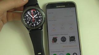 Samsung Gear S3 Frontier Unboxing + Installation: Die Android Smartwatch? (Deutsch)