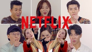 I Interviewed the Cast from Korean Netflix Variety show Busted! EXO Sehun & Yoo Jaesuk!
