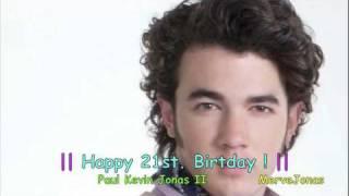 Kevin Jonas // Stay My Baby (Happy B-Day)
