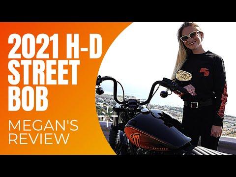 2021 Harley-Davidson® Street Bob® 114 Vivid Black