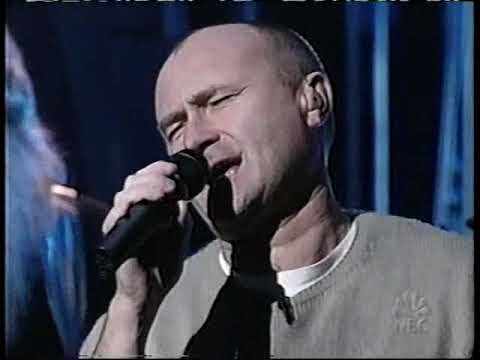 "Phil Collins ""Can't Stop Loving You"" Carson Daly 11/21/2002"