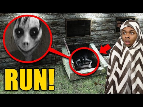 If You See This CREEPY Girl In Your Basement…RUN AWAY FAST!