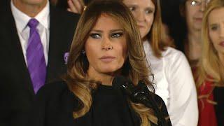 Melania Trump speaks about America