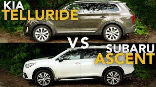 2020 Kia Telluride vs Subaru Ascent: How Kia Compares to one of the Best Three Row SUVs