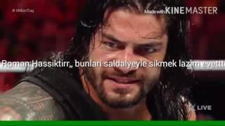 wwe türkçe roman reigns ve the usos vs. the club komik montaj 5
