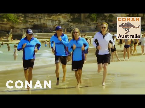 Conan v Austrálii #5: Plavčíkem na pláži Bondi