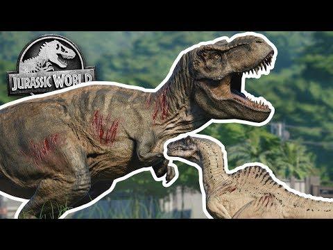 Jurassic World Evolution: ALL 62 DINO BATTLE ROYALE!!! - Jurassic World Evolution | HD