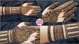 New Style Dubai Henna Design 2019 | Unique Mehndi Design For Hand | Heena Vahid.