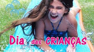 DIA DA DIVERSÃO - Brincadeira no dia das crianças em familia - Bela Bagunça
