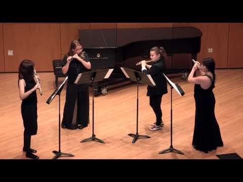 Performance of Creatures of the Enchanted Forest by Anze Rozman (Monika S. on piccolo)