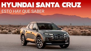 La Hyundai Santa Cruz es una pick-up que mutó de SUV, un Tucson para la aventura
