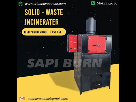 Adult Diaper Incinerator