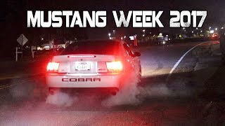 Mustang Week 2017 Pull Outs, Burnouts, Crashes, Cops, and the Sounds of Mustang Week