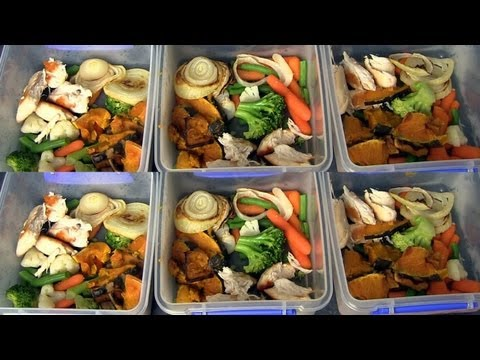 Video MEAL PREPPING ♥ HOW I PREPARE HEALTHY MEALS FOR THE WEEK!