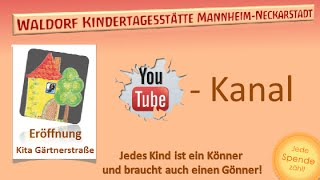 preview picture of video 'Waldorfkita Mannheim-Neckarstadt Eröffnung Gärtnerstrasse #video3'