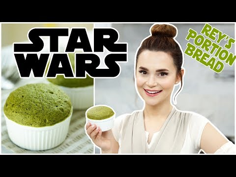 STAR WARS - REY'S PORTION BREAD - MUG CAKE RECIPE - NERDY NUMMIES