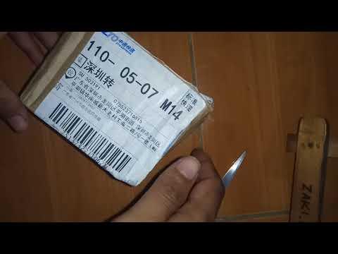 unboxing beli jam tangan impor sendiri via LWE