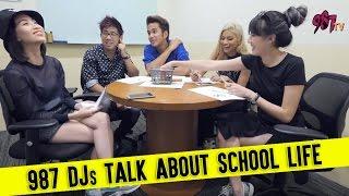 987FM DJs Talk About School Life