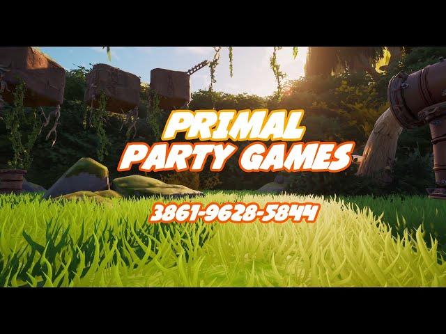 PRIMAL PARTY GAMES