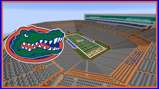 Minecraft Ben Hill Griffin Stadium (Florida Gators) Timelapse +DOWNLOAD | TheCraftCrusader