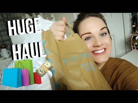 HUGE SHOPPING HAUL FOR ME AND MY PUGS *Primark, Newlook, Poundland*