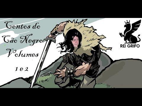 Resenha do Rei Grifo: Contos do Cão Negro Volume 1&2