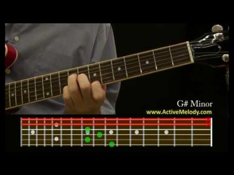 How To Play a G# (Sharp) Minor Chord on the Guitar
