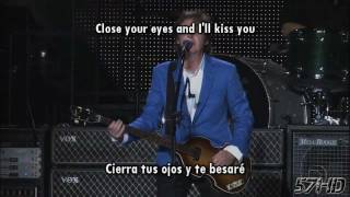 Paul McCartney - All My Loving (The Beatles) HD Live Subtitulado Español English Lyrics
