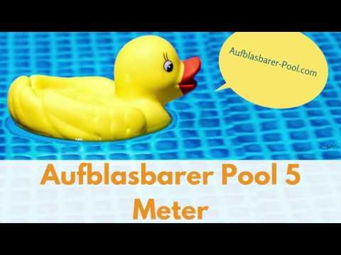 aufblasbarer Pool 5m