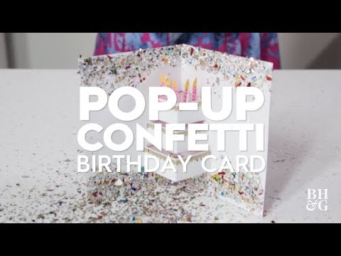 Pop-Up Birthday Card | Made By Me Crafts | Better Homes & Gardens
