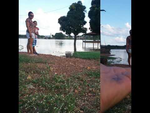 Enchente no rio parnaiba,16/03/18 Benedito leite Maranhão