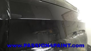 BMW X5 Basecoat And Lacquer Using The Devilbiss FLG 5 And The GTI PROLITE T110