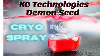 Negative 30 Degrees?! ???? KO Technologies Demon Seed Motor With Cryo Freeze Spray ❄️