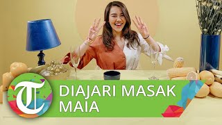 Aaliyah Massaid Diajari Memasak Maia Estianty, Sebut Diajari Mengolah Ikan Dori dan Steak